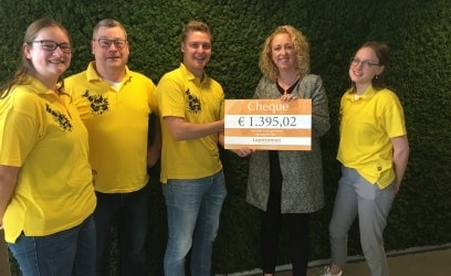 Mooie donatie van Leystromen